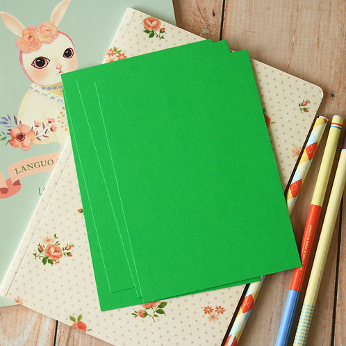 spring green eco postcard blanks