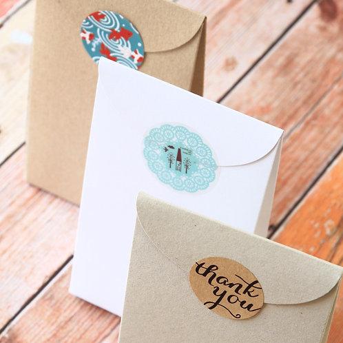 large taper top DIY favour boxes