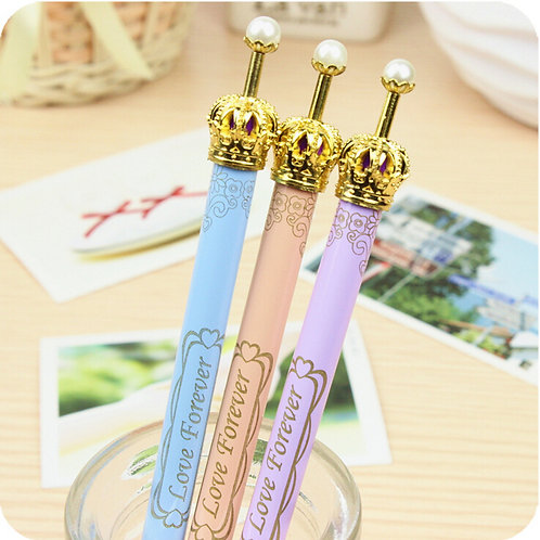 crown glitzy clicker pens