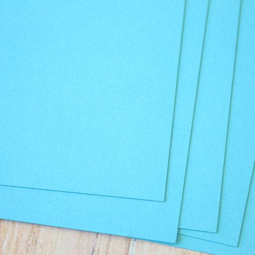 sky blue vintage series card stock