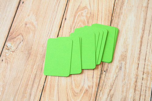 Lime green blank business cards lemoncat shop get cute lime green blank business cards reheart Choice Image