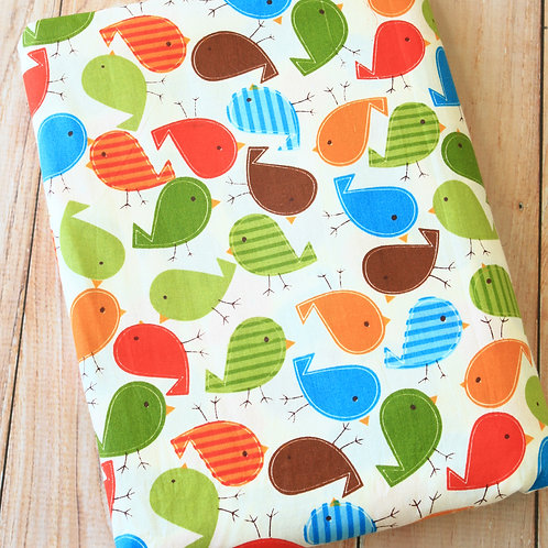 tweety birds cartoon cotton fabric