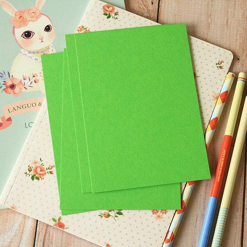 lime green eco postcard blanks