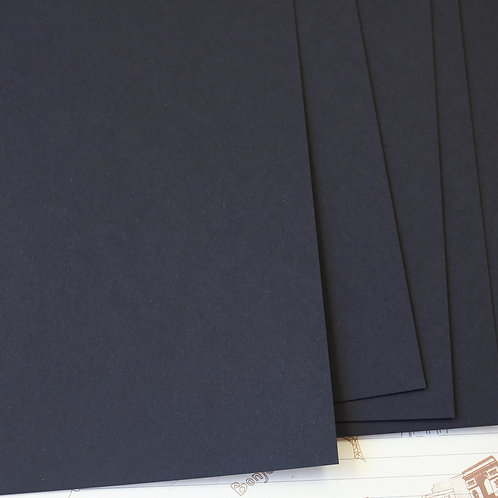 jet black papermill series card stock