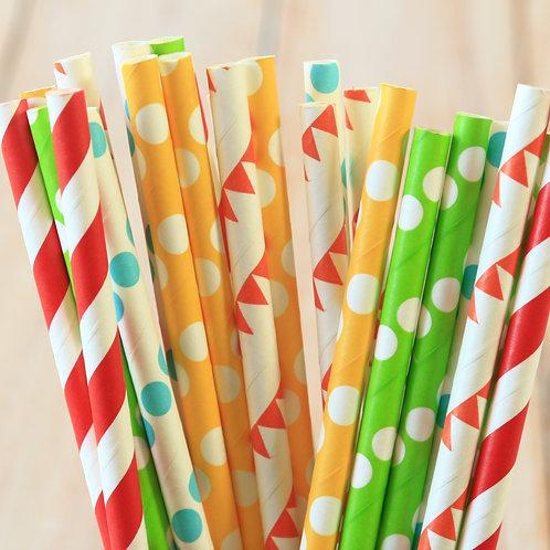 big top mix paper straws