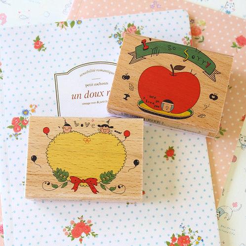 cute cartoon fun stamps