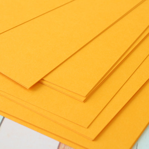tangerine orange craft style cardstock