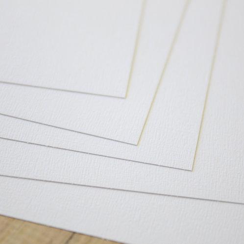 tree fresh white earth tones cardstock
