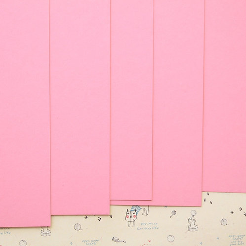 pink ice colorset card stock