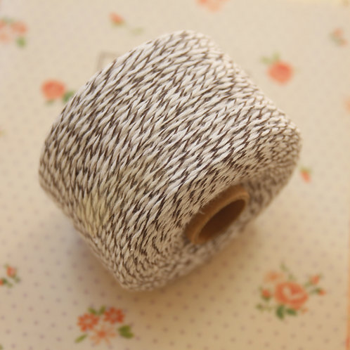 brown sugar twisted cotton bakers twine 200m