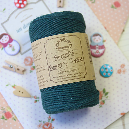 moss everlasto solid colour bakers twine
