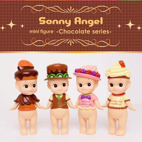 sonny angel doll mini figure - chocolate