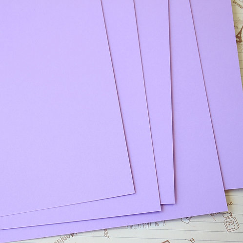 lilac papermill series card stock