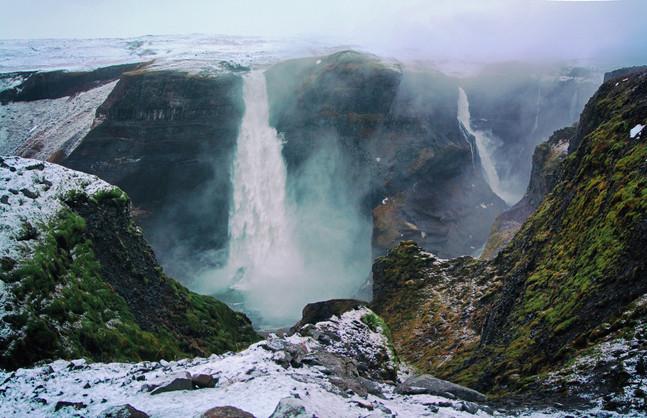 Over 20 waterfalls