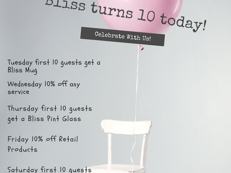 Bliss Turned 10 June 25th!