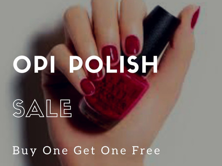 OPI Polish Sale BOGO Free July 1st