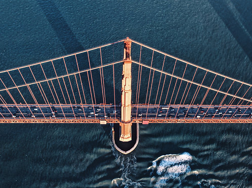 Golden Gate From Above