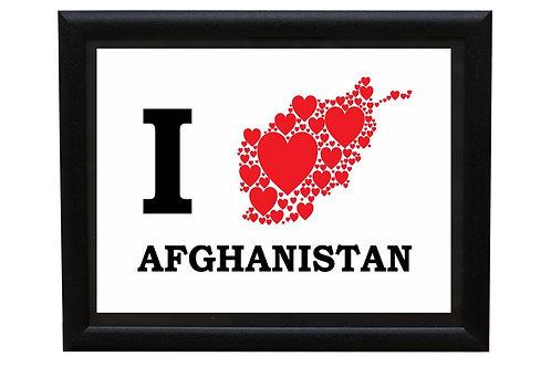 I love Afghanistan