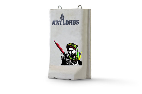 Warlord with crayons