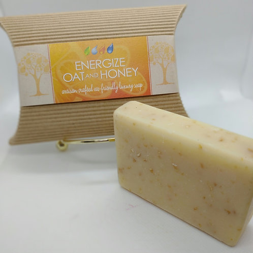 ** Clearance **Energize! Oat & Honey Soap