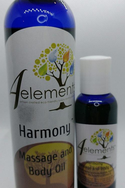 Harmony Massage & Body Oil