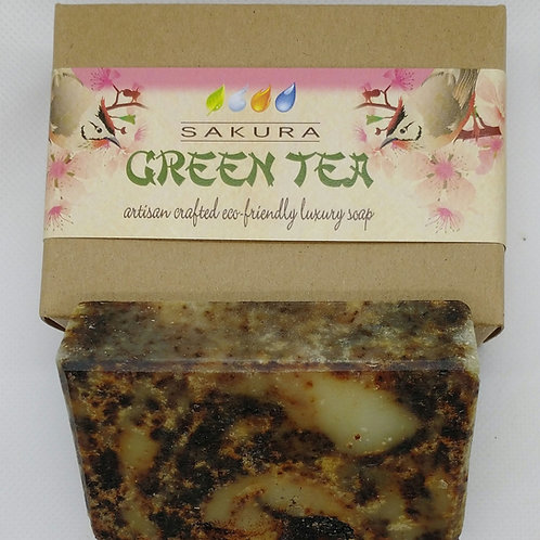 Sakura Green Tea Soap