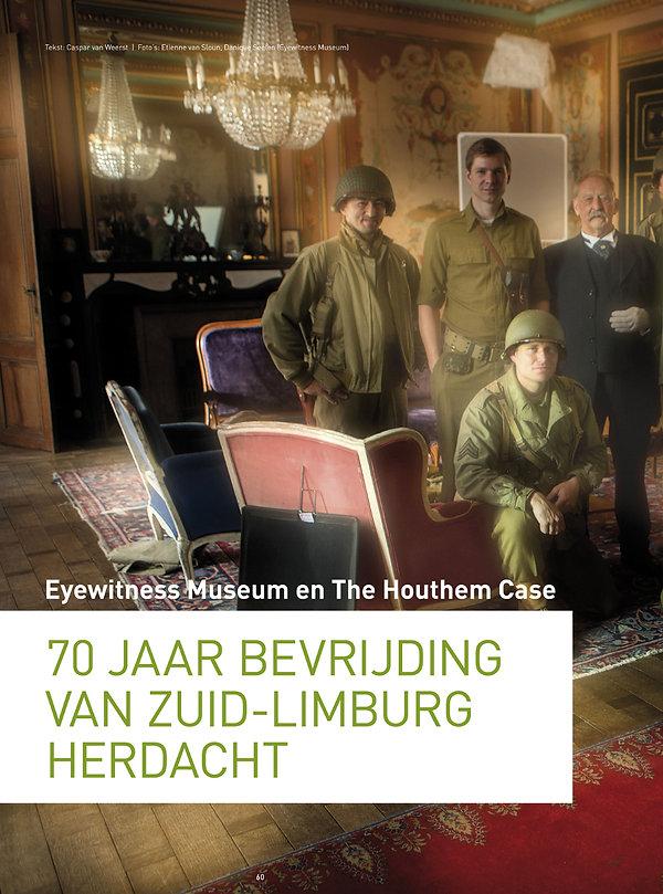 Mosasaurusfilm - 70 jaar bevrijding van Zuid-Limburg herdacht deel 1, door Caspar van Weerst