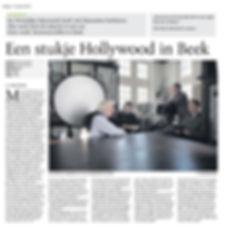 Mosasaurusfilm - Een stukje Hollywood in Beek, Dagblad De Limburger / Limburgs Dagblad