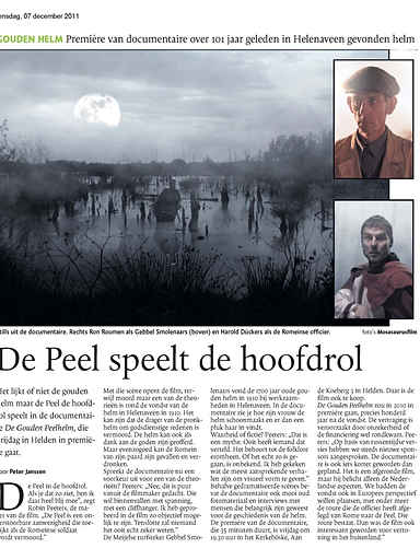 DE PEEL SPEELT DE HOOFDROL