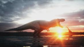 Oog in oog met T. rex