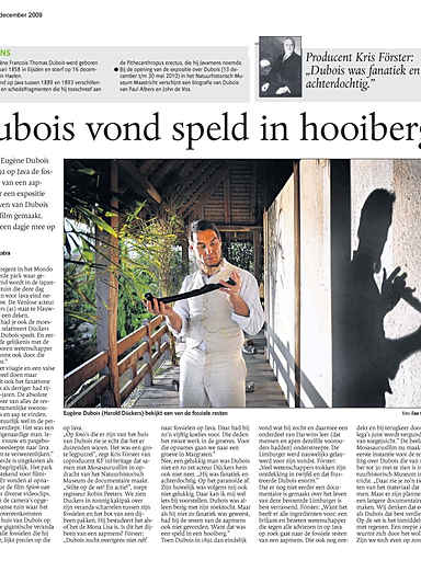 DUBOIS VOND SPELD IN HOOIBERG