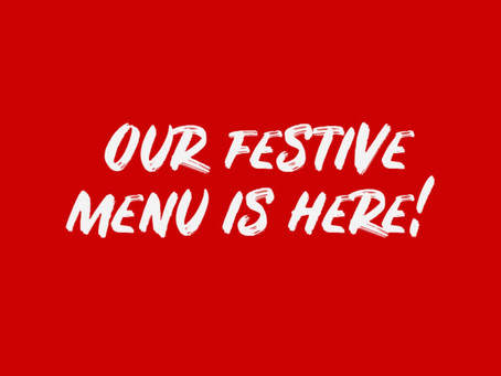 Check out our festive menu!