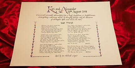Anniversary Poem
