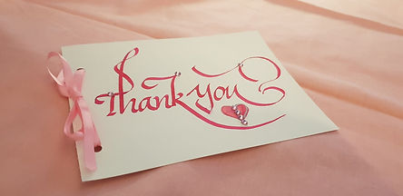 Wedding Thankyou Card