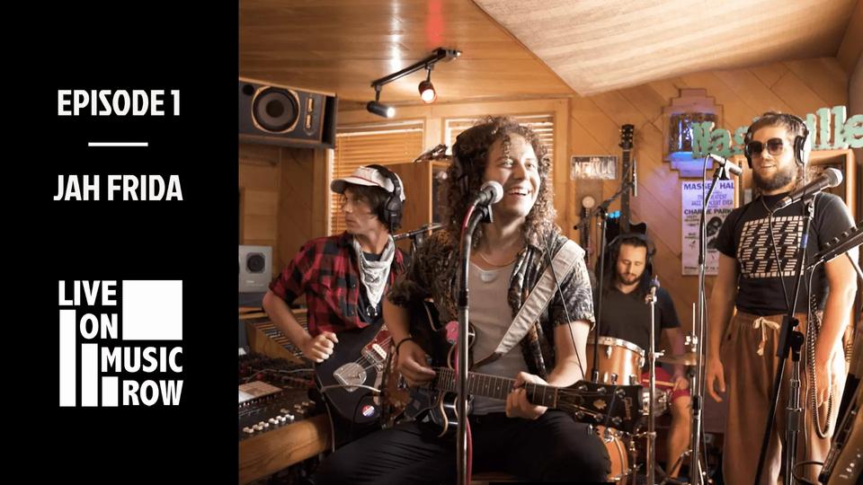 """""""Live on Music Row"""" Episode 1 Built in Nashville Jah Frida"""