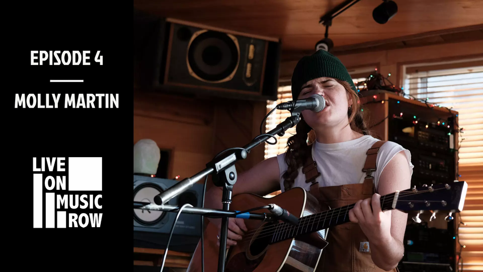 """""""Live on Music Row"""" Episode 4 Built in Nashville Molly Martin"""