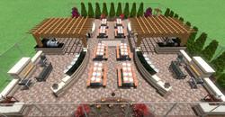 Community Outdoor Living Area