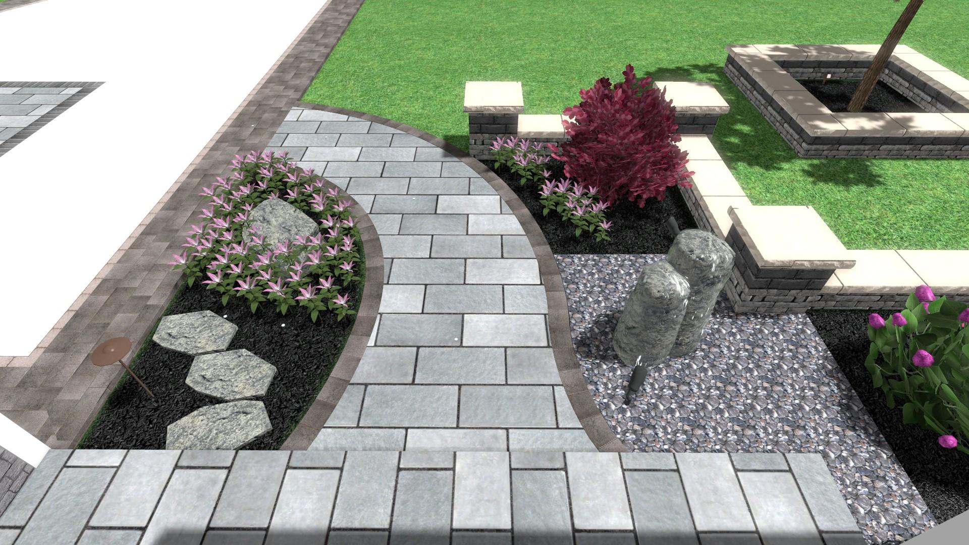 Walkway 3D design