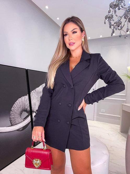 Clover Styles* Blazer Dress