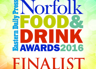 Finalists at the EDP Food and Drink Awards!