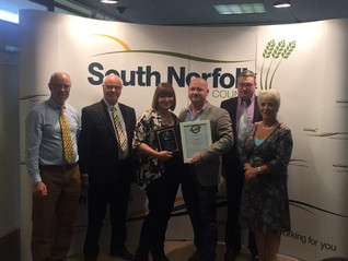 South Norfolk Community Pub of the Year – Reigning Champions!
