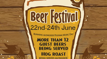 Launch of the Summer Beer Festival 22nd-24th June