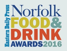Norfolk Food and Drink Awards. We need your vote!