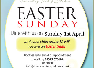 Easter Bank Holiday Weekend