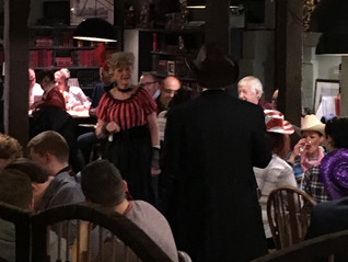 A sensational Wild West themed Murder Mystery evening at The Crown Inn