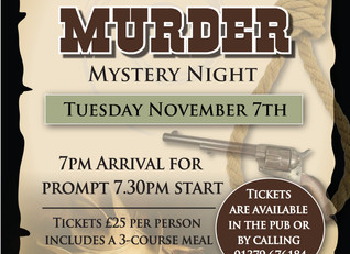 An entertaining evening with the Pulham Players - Tuesday 7th November