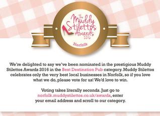 Best Destination Pub - we need your votes!
