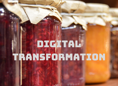 Digital Transformation                         What is the secret sauce?