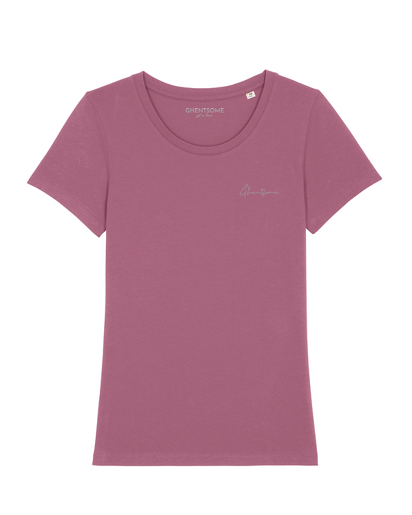 Signature T-shirt Mauve