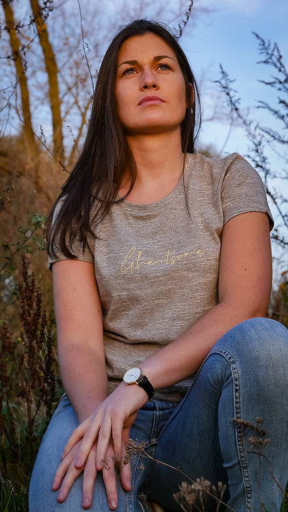 Signature T-shirt Houtbruin
